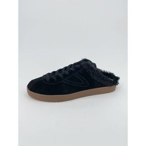 Tretorn Cam 2 Sneakers Suede Shearling Fur Mule